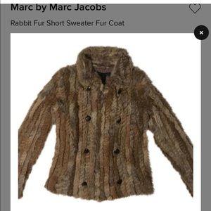 Marc by Marc Jacobs Rabbit Fur Coat
