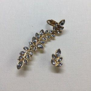 ZARA earring cuff set