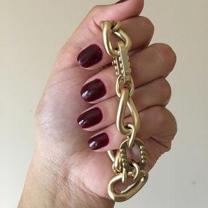 Jewelmint Gold Chain Bracelet