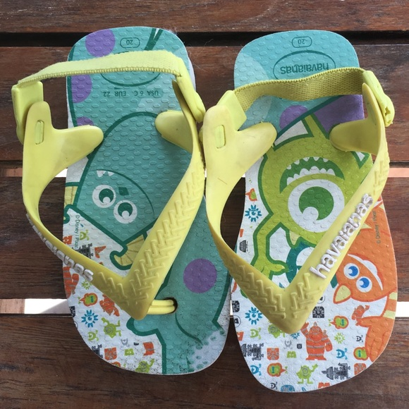 da80fabbb210 Havaianas Other - Havaianas 6c monsters inc. flip flops 3 for  12
