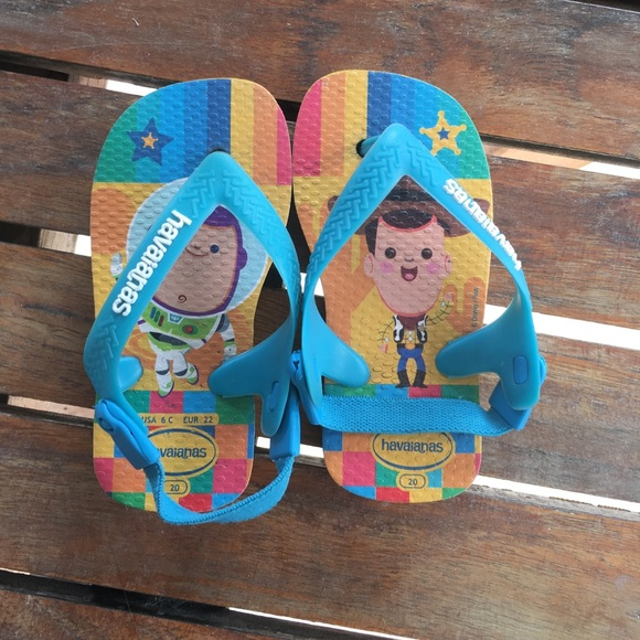 31e0b6001c161b Havaianas Other - havaianas 6c toy story flip flops 3 for  12