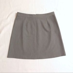 ASOS Tailored A-Line Skirt in Grey NWOT