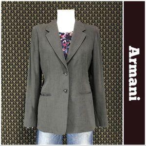Armani Collezioni Wool Blend Jacket