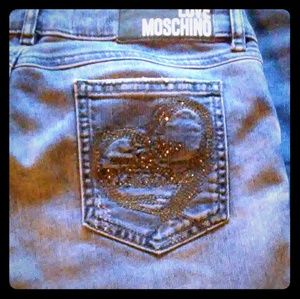 Moschino bling jeans