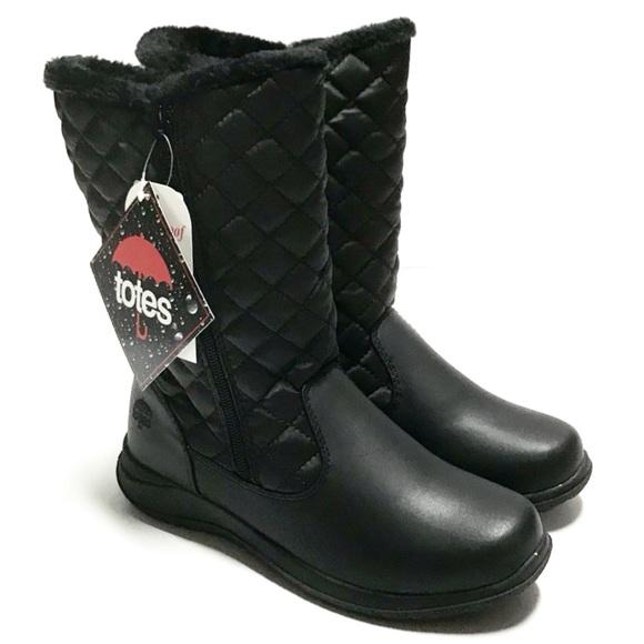 totes Shoes   Totes Waterproof Black