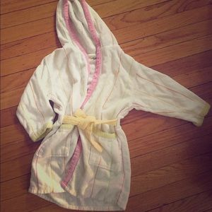 Cute kid's cotton robe