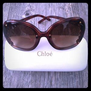 Chloe Sunglasses, tortiseshell, like new, GORG