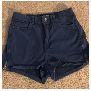 American Apparel Shorts W/ Zips on Sides, 26, 27