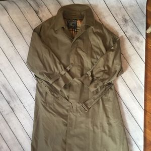 Burberry Men's Trench Coat, Size L