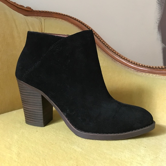 Shoes | Womens Black Booties Size