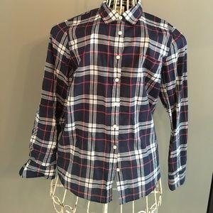 J Crew Perfect Fit Women's Shirt