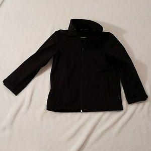 Weatherproof black jacket