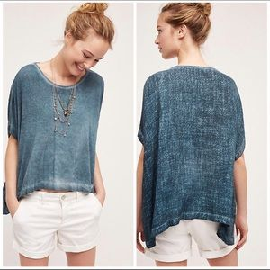 Anthropologie Amadi Textured Pullover Poncho