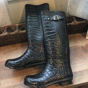 Khombu tall rain boots