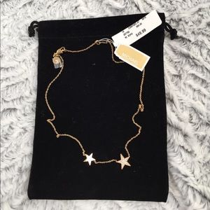 NWT brilliance motifs Michael kors necklace star