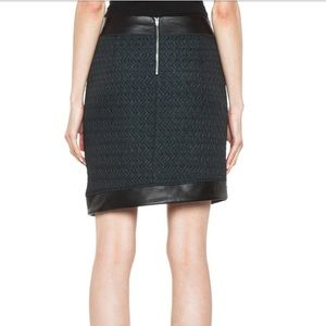 3226f1ad8 Helmut Lang Skirts - NWT Helmut Lang: Peak jacquard angle skirt leather