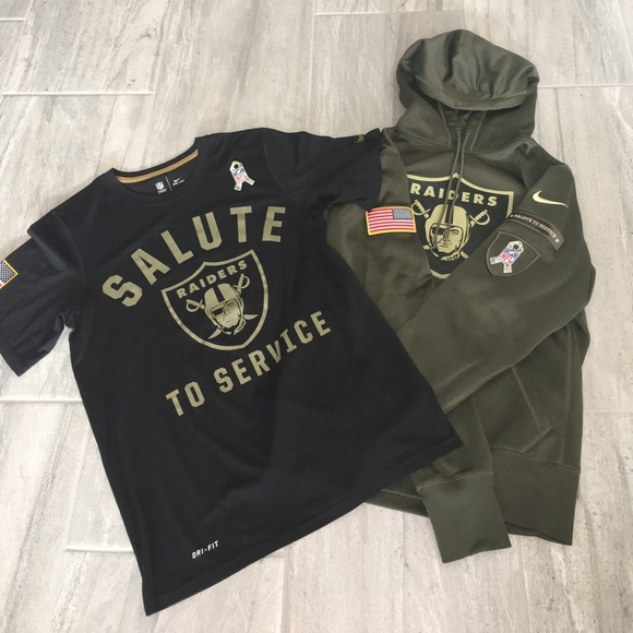 fbacc622d Nike nfl salute to service raiders army green wear.  M 5a09f3604127d0769e174ec2