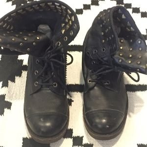 Jeffrey Campbell Shoes - Jeffrey Campbell Studded combat ankle folder boots