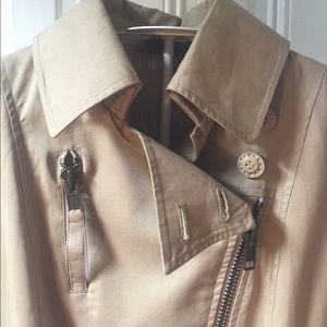 Mackage Jackets & Coats - Mackage trench zip coat XS leather details