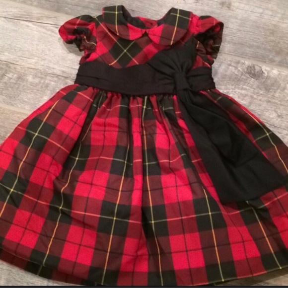 e4ee345b5 Ralph Lauren girls tartan dress. M 5a09f9a64225be816c132243