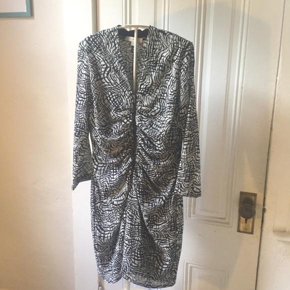 IRO Dresses & Skirts - Iro Sonny brush stroke dress