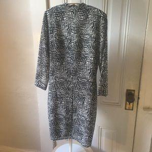 IRO Dresses - Iro Sonny brush stroke dress