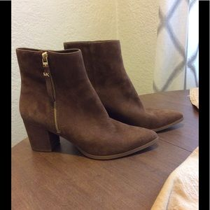 Michael Kors - Suede Ankle Boot