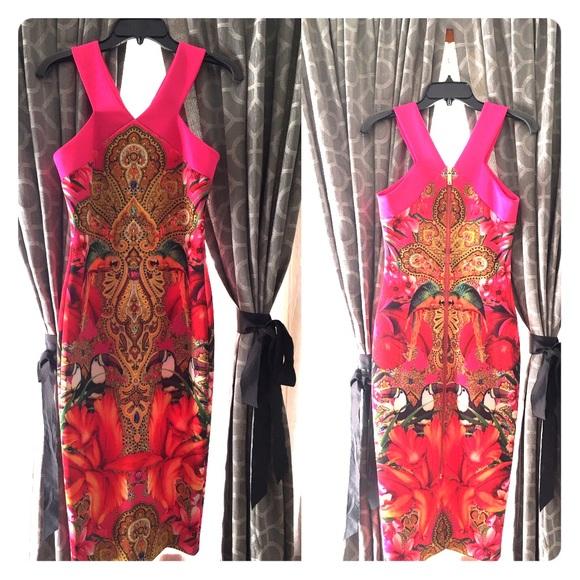 0468e73f67ca12 Ted Baker Paisley Dress