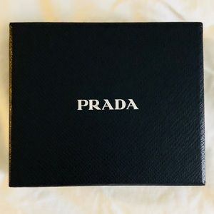 Authentic Prada Wallet Box