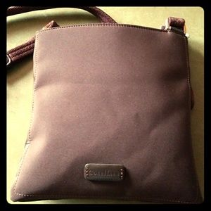 BEAUTIFUL CHOCOLATE NEOPRENE CROSSBODY
