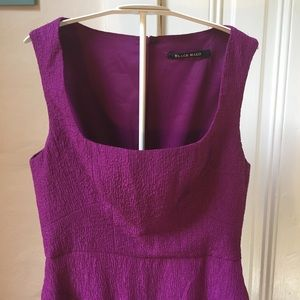 Black Halo Dresses - Black Halo purple sleeveless sheath dress 4