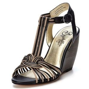 Seychelles Good Ole Days Strappy Wedge Sandals