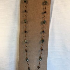 """Jewelry - Handmade 36"""" Tin Cup Style Necklace"""