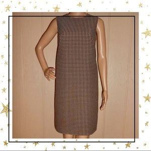 Isaac Mizrahi for Target Brown Polka dot Dress