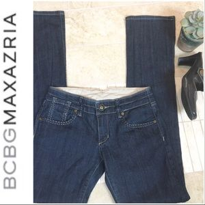 •BCBG MaxAzria• Jeans with Zippered Ankles