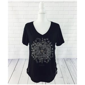 6 for $25! Hollister Side Lace Panel Tunic Top