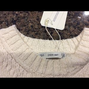 565333293e9 Zara Dresses - Zara Knit Cream Maxi Sweater Dress Size M