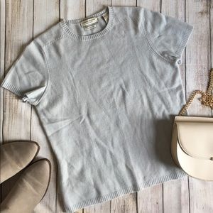 Valerie Stevens | Light Blue Cashmere Sweater