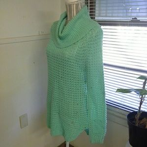 Cowl neck long sweater  nwot