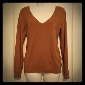 H&M V-Neck Golden Sweater