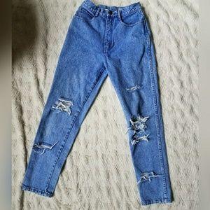 Vintage Rio Brand Distressed Mom Jeans