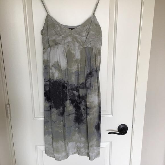 Fei Anthropologie Dresses & Skirts - Fei silk watercolor dress, size 10.