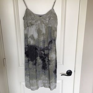 Fei silk watercolor dress, size 10.