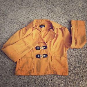 Rue 21 mustard colored jacket