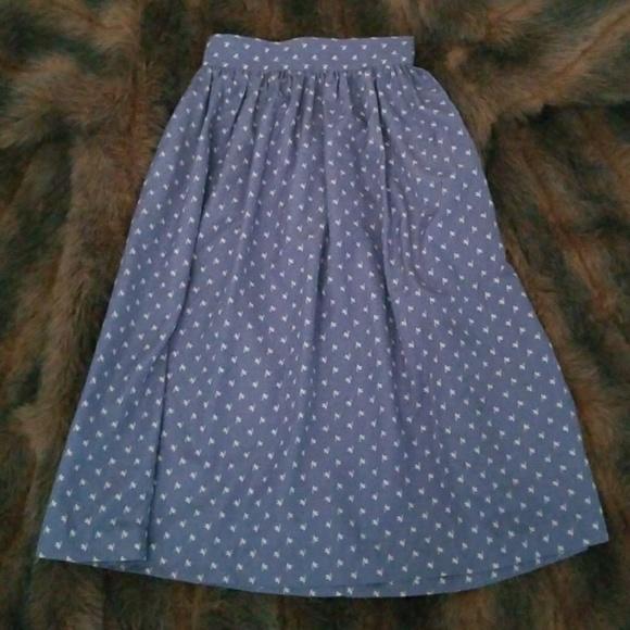 Patty Woodard Dresses & Skirts - 🔥FINAL PRICE🔥 💙Sky Blue Skirt