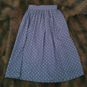 🔥FINAL PRICE🔥 💙Sky Blue Skirt