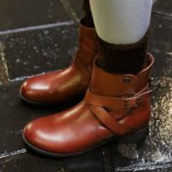 Collins Bootie Size 42 Cuoio Leather