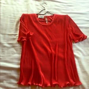 Vintage French Red Top