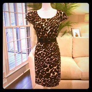 Firm Fitting, Drop Dead Sexy Leopard Print Dress