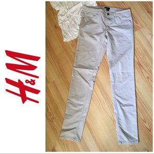 H&M  tan jeans (10)